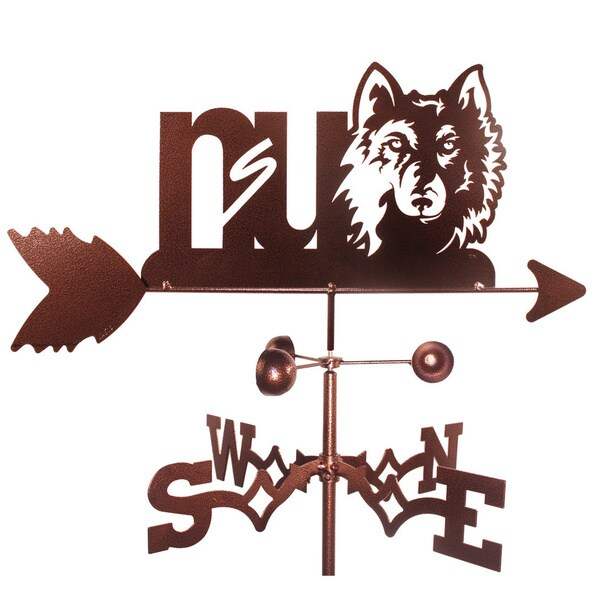 Northern State Wolves Weathervane