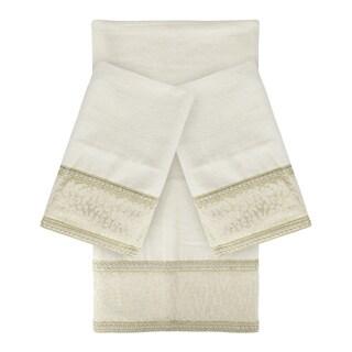 Sherry Kline Cheetah Natural 3-piece Decorative Towel Set