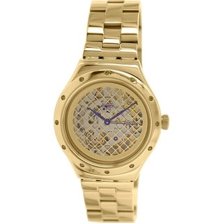 Swatch Men's Irony YAG100G Goldtone Stainless Steel Swiss Quartz Watch