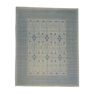 Washed Out Oversize Khotan Oriental Handmade Rug (13'2 x 16'6)