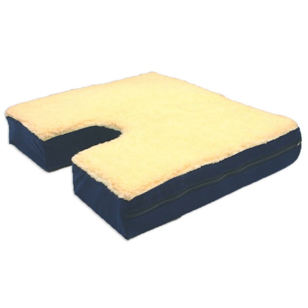 Windsor Coccyx Gel Seat Cushion with Fleece Top