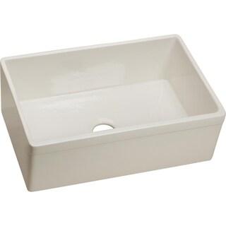 Elkay Single Bowl Undermount Fine Fireclay Kitchen Sink