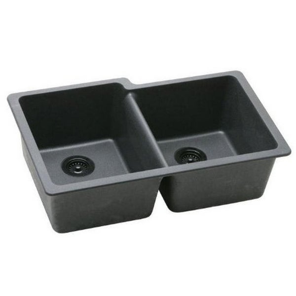 Elkay Gourmet Undermount Granite Kitchen Sink (14988902 ELGU250RGY0 ...