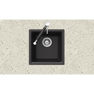 Houzer Undermount/ Drop-in Midnite Granite Kitchen Sink