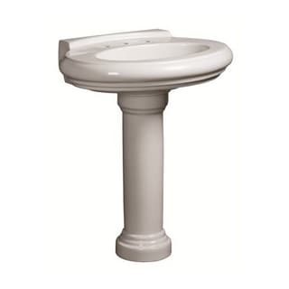 Danze Orrington Pedestal White Porcelain Bathroom Sink