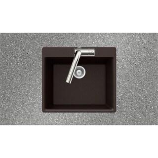Houzer Drop-in Chocolate Granite Kitchen Sink