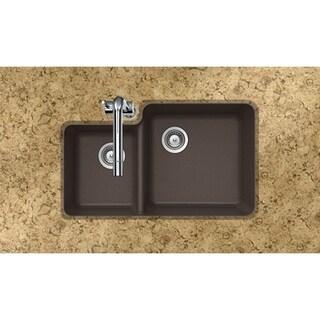 Houzer Cristaliteplus Undermount Mocha Granite Kitchen Sink
