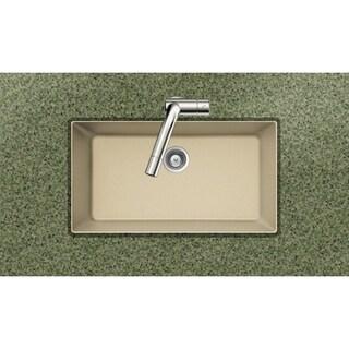 Houzer Cristadur Undermount Sand Granite Kitchen Sink