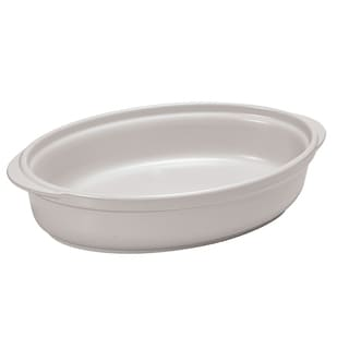 French Home 13-inch or 10-inch Oyster Gray Oval Au Gratin Dish