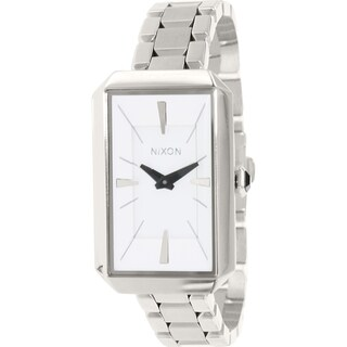 Nixon Women's Paddington A284100 Silver Stainless-Steel Quartz Watch