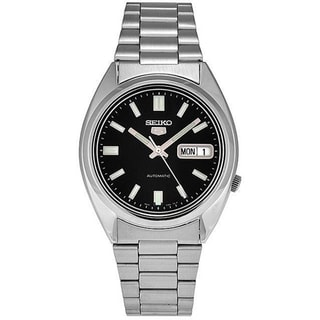 Seiko Men's 5 Automatic SNXS79K Black Stainless-Steel Automatic Watch