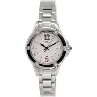 Seiko Women's SRZ421 Stainless Steel Quartz Watch