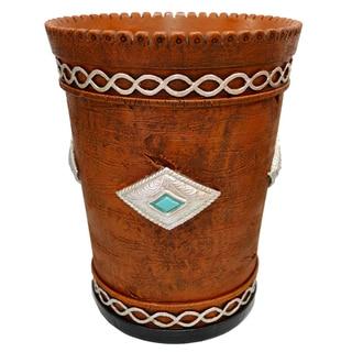 HiEnd Accents Navajo Waste Basket
