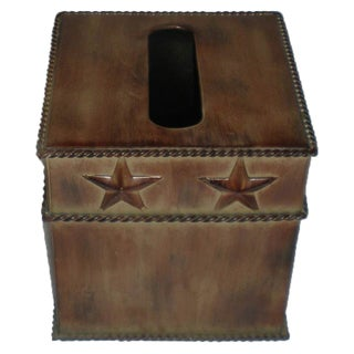HiEnd Accents Star Tissue Box