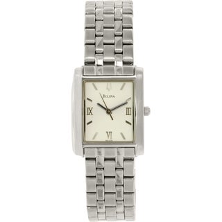 Bulova Women's 96L006 Silver Stainless-Steel Quartz Watch