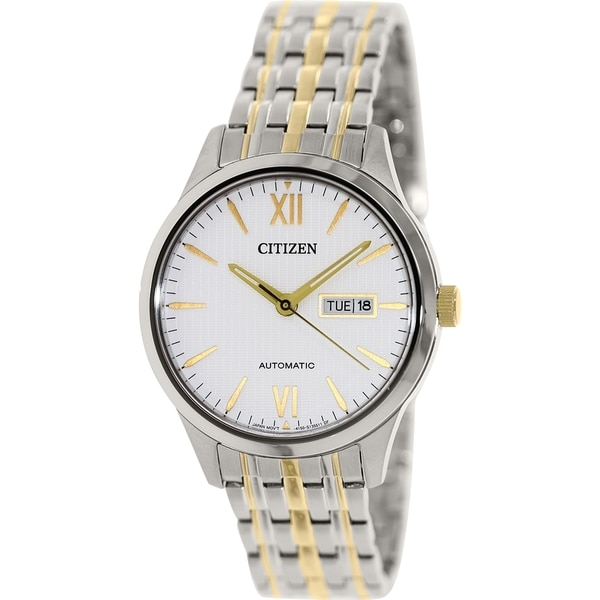Citizen Men's NP4074-52A Stainless Steel Automatic Watch