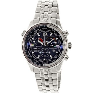 Citizen Men's AT0360-50L Stainless Steel Eco-drive Watch