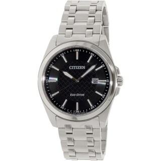 Citizen Men's BM7101-56E Stainless Steel Eco-drive Watch