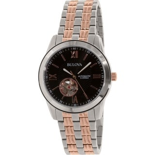 Bulova Men's 98A144 Stainless Steel Automatic Watch