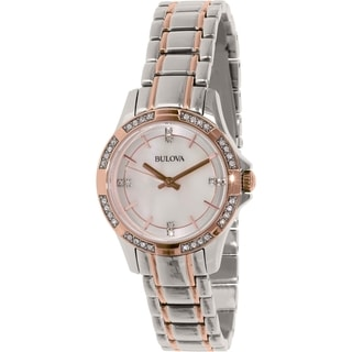 Bulova Women's 98L209 Stainless Steel Quartz Watch