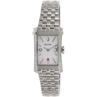 Bulova Women's Diamond Gallery 96R187 Stainless Steel Quartz Watch