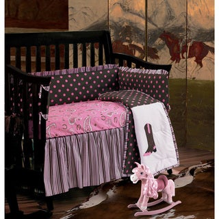 HiEnd Accents Baby Paisley Crib Bedding Set