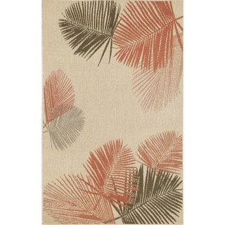 Leaves Outdoor Rug (4'10X7'6)