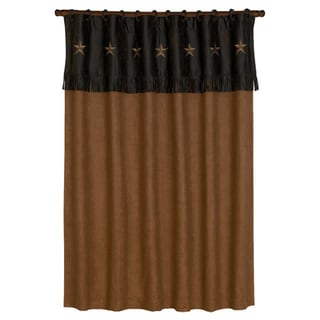HiEnd Accents Laredo Shower Curtain
