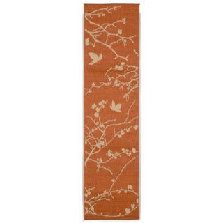 Branch And Bird Outdoor Rug (1'11X7'6)