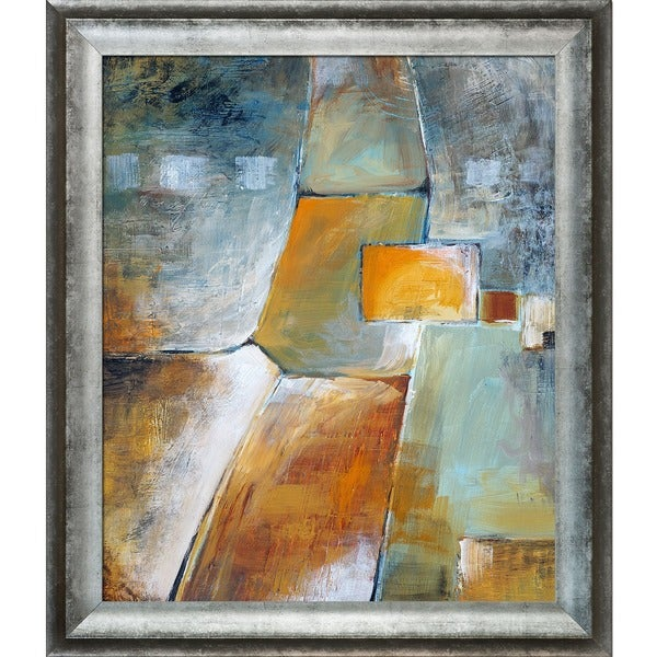 Clive Watts An Abstract Painting Framed Fine Art Print 14989611