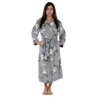 Elegant Floral Robe