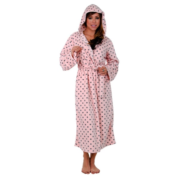 Super Mink Long-hooded Robe