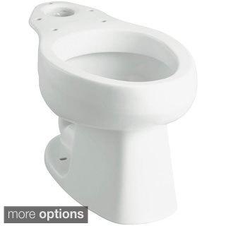 Windham Dual Flush Elongated Toilet Bowl