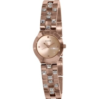 Guess Women's U10085L2 Rose Goldtone Stainless Steel Quartz Watch