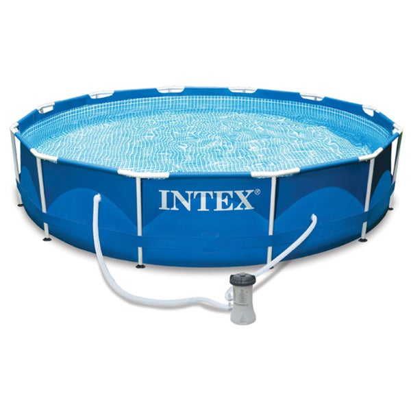 "12' X 30"" Metal Frame Pool"