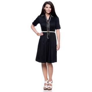 Jones New York Missy Fit Flare Shirt Dress