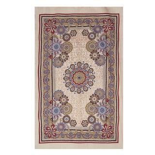 Kalamkari Floral Tapestry (India)