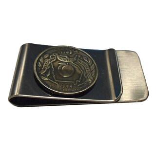 Handmade Georgia State Quarter Coin Money Clip