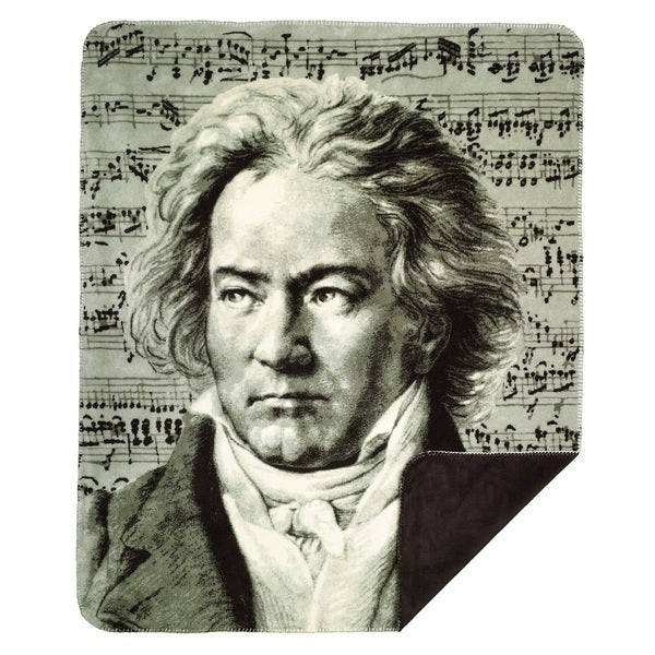 Denali # 357 Beethoven/ Chocolate Throw