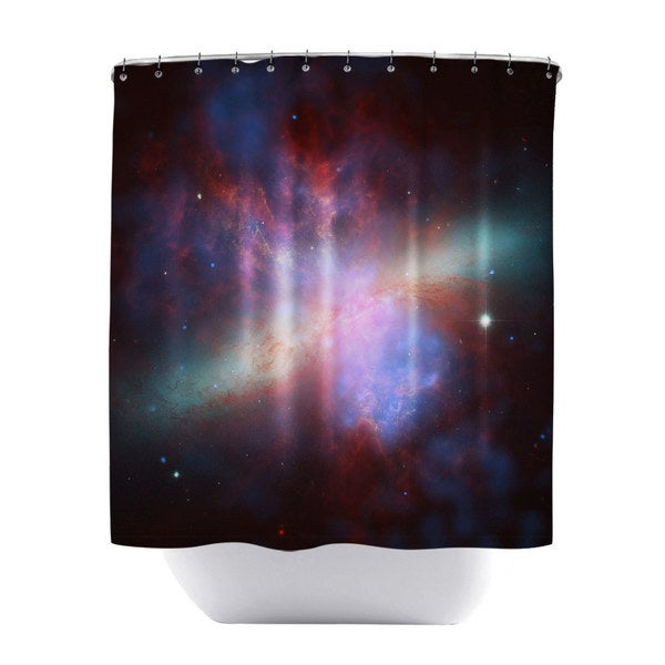 Messier 82 Shower Curtain