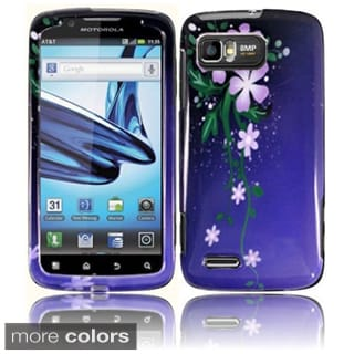 Insten Design Pattern Hard Snap-on Glossy Phone Case Cover For Motorola MB865 Atrix 2