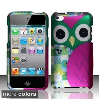 Insten Animal Pattern Hard Snap-on Rubberized Matte Phone Case Cover For Apple iPod Touch 4th Gen