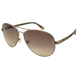 Michael Kors Women's M2477S Karmen Aviator Sunglasses