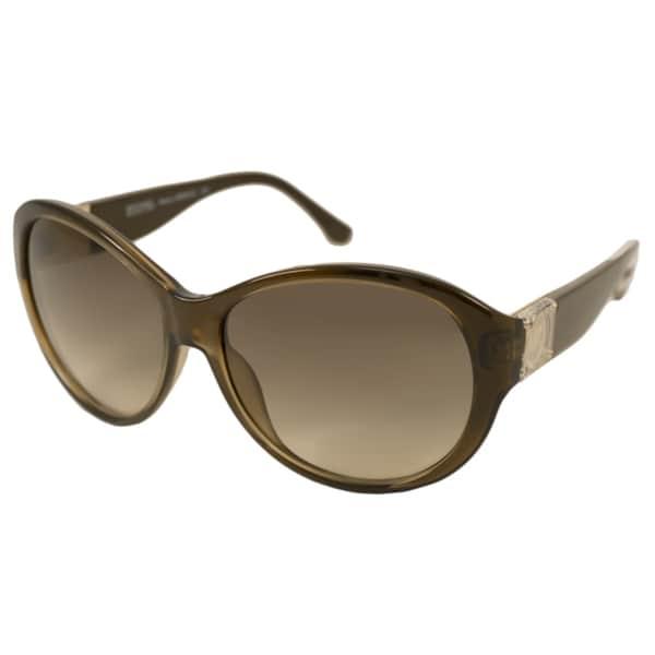 Michael Kors Women's M2901S Maeve Oval Sunglasses