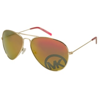 Michael Kors Women's M2063S Reagan Aviator Sunglasses