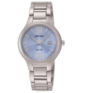 Seiko Women's SUT209 Stainless Steel with a Light Blue Dial Watch