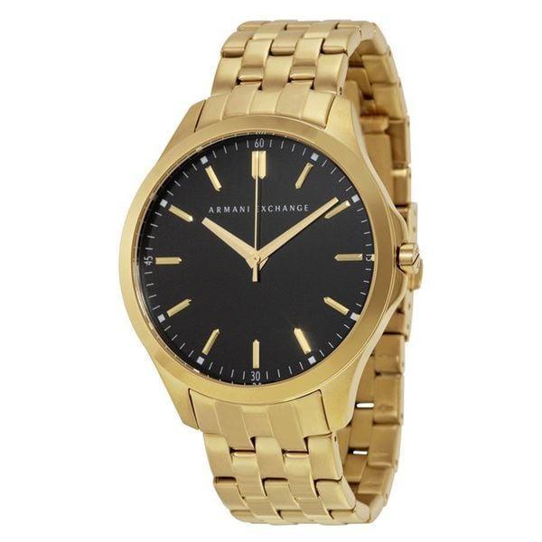 Armani Exchange Men's Smart AX2145 Goldtone Stainless Steel Quartz Watch