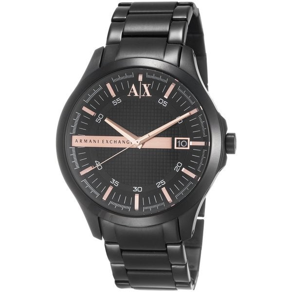 Armani Exchange Men's AX2150 Black Stainless Steel Quartz Watch