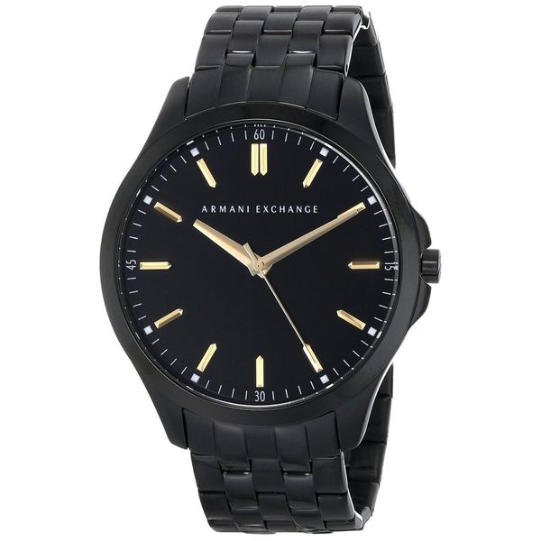 Armani Exchange Men's AX2144 Black Stainless Steel Quartz Watch