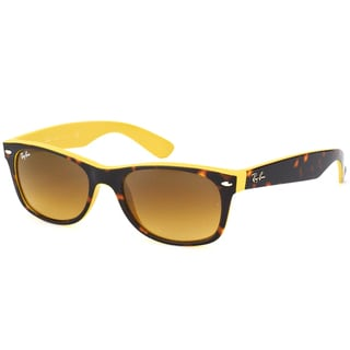 Ray-Ban Unisex RB2132 Wayfarer 601485 Havana/ Yellow Sunglasses